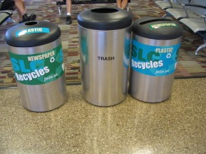 Utah Airport, Recycling (2007)
