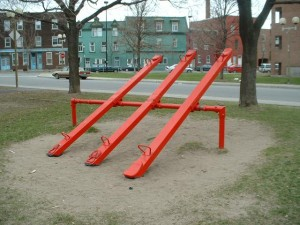 Seesaw.  Photo credit:hvms6math.atom5.com