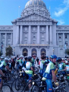 Climate Ride - City Hall Rally!