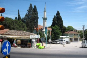 Even the smallest villages have gorgeous mosques with tall minarets!