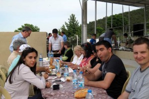 Dinner with Olive Farmers