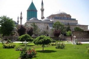 Mevlana Rumi Mosque, where Rumi is buried
