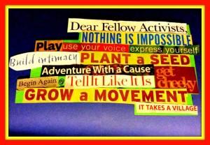 2014 Vision Board Manifesto