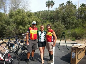 Last Day of Training Camp with PAC Tour hosts/cycling-stars, Lon and Susan