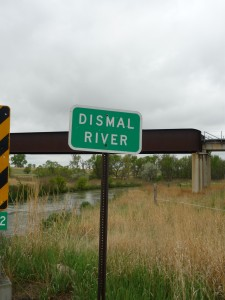 "The Pioneers named this river and the sandy hills surrounding it, ""Dismal."""
