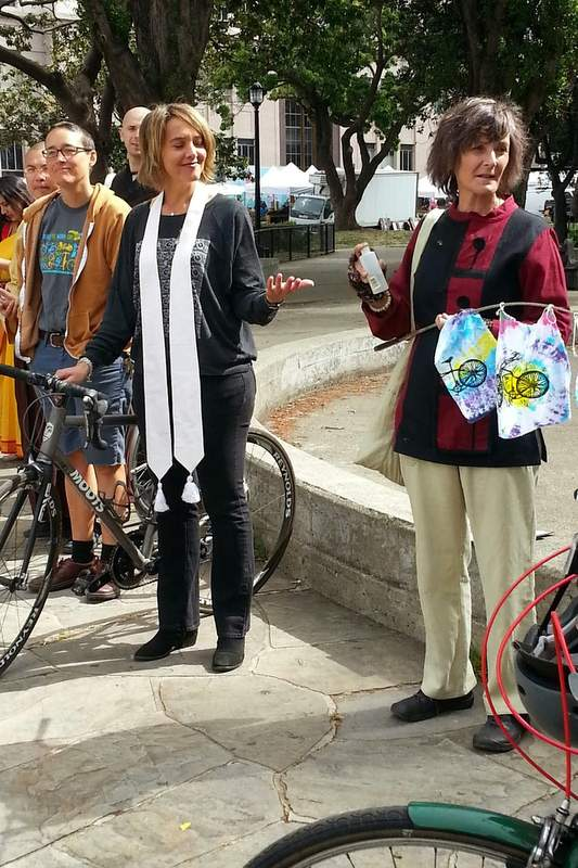 Berkeley's 4th Annual Blessing of the Bicycles