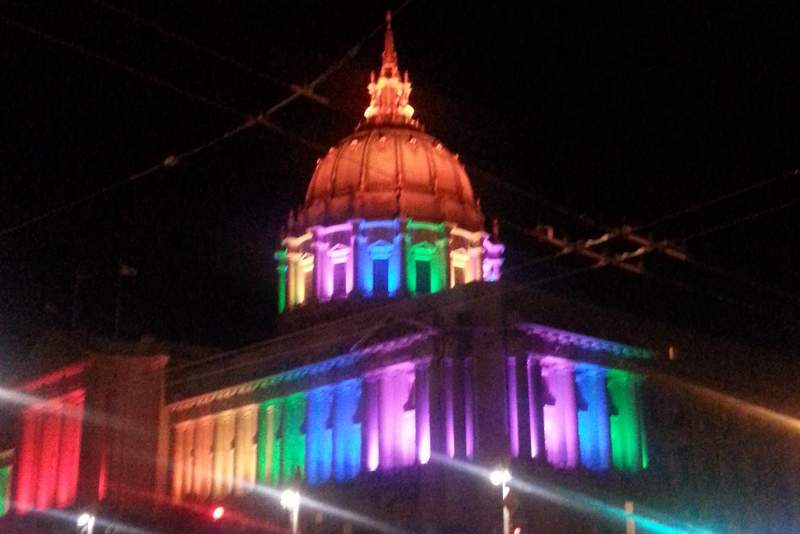 The Supreme Court decision fuels the San Francisco PRIDE celebration!
