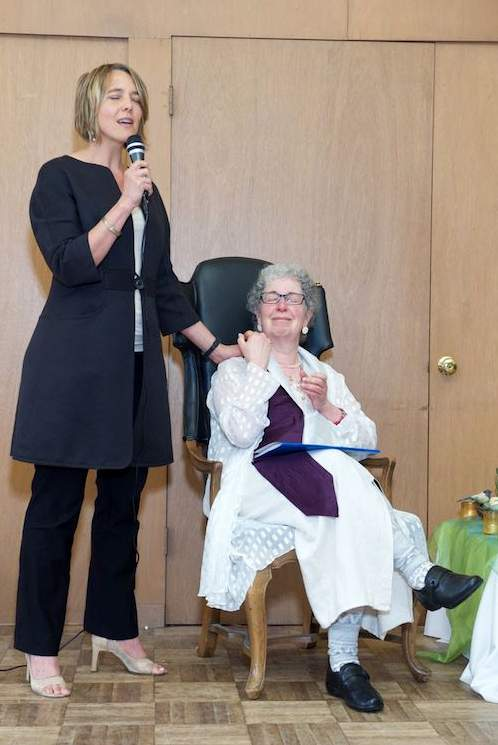 Honoring Gina Rose Halpern, founder of The Chaplaincy Institute